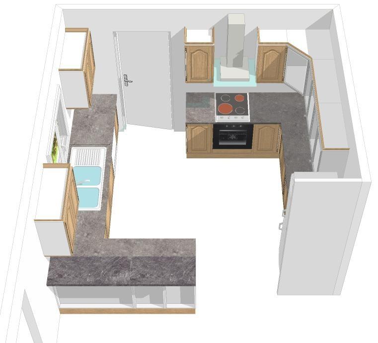 les projets implantation de vos cuisines 8700 messages page 51. Black Bedroom Furniture Sets. Home Design Ideas
